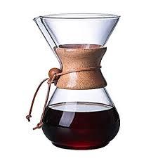 TRUELACE <b>1PC</b> 1000ml Coffee Pots Heat Resistant <b>Glass</b> Coffee ...