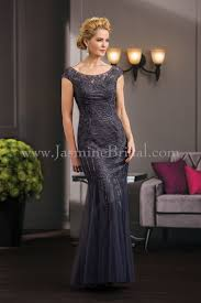 Jasmine Bridal Jade Couture Style K188054 In Iron Dresses