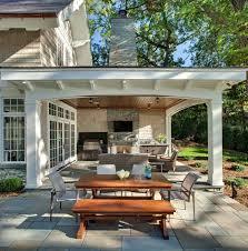 Garage Patio Designs 44 Traditional Outdoor Patio Designs To Capture Your Imagination