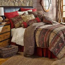 Southwestern Bedroom Furniture Southwestern Sierra Bedding Collection Cabin Place