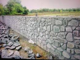 compound wall construction service in