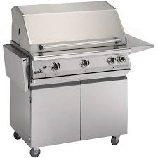 pgs grills t series commercial 39 inch freestanding propane gas grill with timer s36tlp s36cart