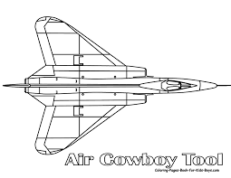 jet airplane coloring page free printable pages throughout