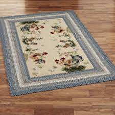 compromise french country rooster rugs enthralling rug designs on kitchen with