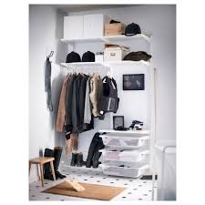 IKEA ALGOT wall upright/rod/shoe organiser