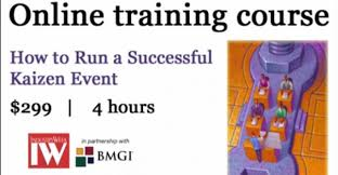 Online Training How To Run A Successful Kaizen Event Industryweek