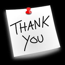 clipart thank you pinned thank you pinned