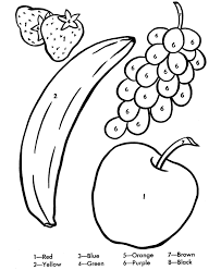 Small Picture Banana Coloring Pages For Kids Coloring Home