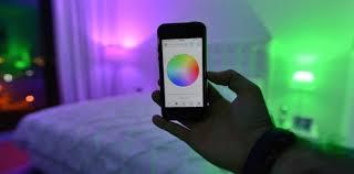 smartphone lighting control. Smart Light Bulbs You Can Control With Your Phone Smartphone Lighting