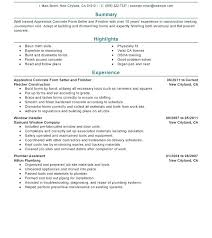Building A Resume Tips Beauteous Resume For Laborer In Construction Skills List Mmventuresco