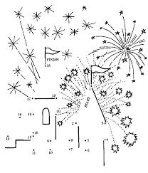 Kleurplaat Uitprinten Vuurwerk Puzzel