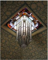 jacques simon ceiling light of the carnegie library circa 1921 reims