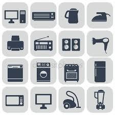 sets van huishoudelijke apparaten