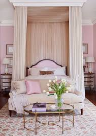 elegant pink bedroom