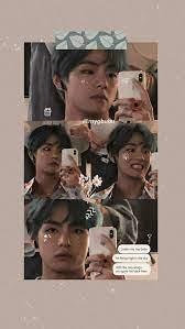 Tae Hyung Aesthetic Laptop Wallpaper ...