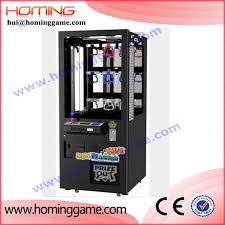 Crane Toy Vending Machine Amazing Gold Supplier China Coin Mechanism For Plush Crane Toy Vending