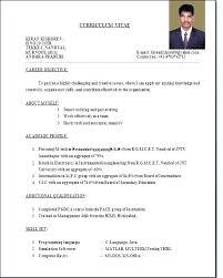 Ideal Resume Format Enchanting Formal Format Of Resume Formal Cv Design Filename Port By Port