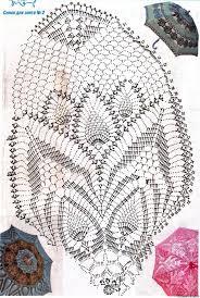 Crochet Umbrella Chart Pattern Free Crochet Crochet