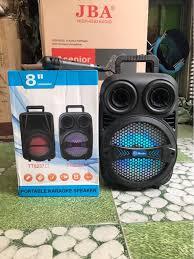 Loa bluetooth karaoke TT8328 có đèn led, 2 tấc, tặng kèm 1 mic có dây [6  tháng] hjk#