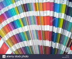 Spectrum Graphic Design Paper Color Sampler Guide Spectrum Graphic Design Stock