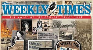 weeklt times the weekly times milestone 150 years of continuous publication