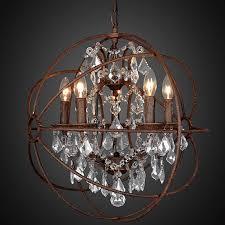 large sphere chandelier modern sphere chandelier simpatico orb chandelier rustic