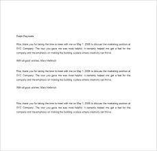 Ideas Of Sample Thank You Letter After Interview Executive Best 8