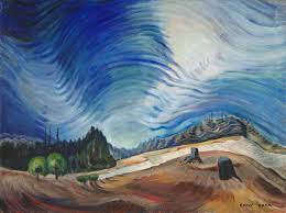 file above the gravel pit by emily carr 1937 oil on canvas