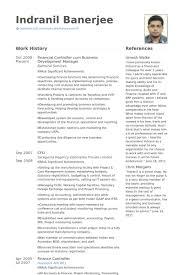 Financial Controller Resume Samples Visualcv Resume Samples Database