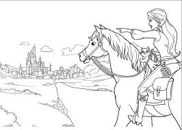 Small Picture Barbie Horse Coloring Pages Free Coloring Pages