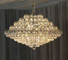 18 crystal chandelier