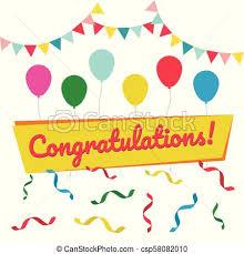 Congratulations Poster Postcard For Congratulations And Invitations