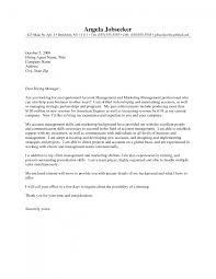 Sample Cover Letter For Account Executive Manager Cover Letter Ideas