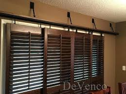 plantation shutters sliding patio doors rolling for glass master bdrm french bypass