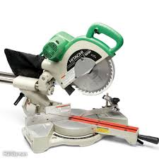 miter saw labeled. sliding miter saw review: hitachi labeled