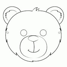 Dierenmasker Kleurplaat Printen Leuk Voor Kids