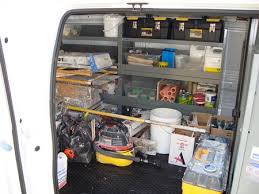elegant cargo van shelving idea system new custom storage bing image of craigslist toronto