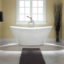 ... Bathtubs Idea, Stand Alone Bath Tub Small Freestanding Tub Treece  Acrylic Freestanding Bathtub: interesting ...