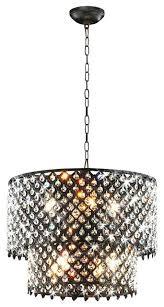 bronze and crystal chandelier jean 8 light round crystal chandelier antique bronze pertaining to awesome residence round bronze chandelier plan celeste dark