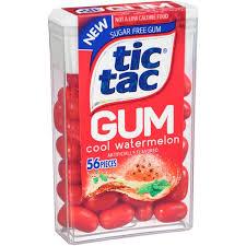 tic tac gum cool watermelon sugar free gum hy vee aisles grocery ping