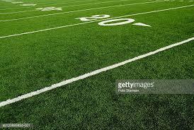 grass american football field. Twenty Yard Line Of Football Field Grass American I
