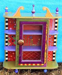 whimsical painted furnitureCarolyns Funky Furniture   Pinteres