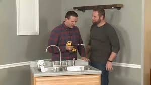 How To Install A Water Filter In A Kitchen Sink Youtube