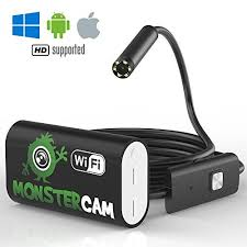 Find great deals on ebay for video inspection camera iphone. Inspection Camera By Monstercam 2 0 Mp Borescope Endos Iphone Usb Microscope Wireless