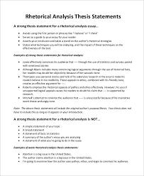 rhetorical situation analysis essay argumentative essay  rhetorical situation essay agence savac rhetorical genre analysis mit opencourseware