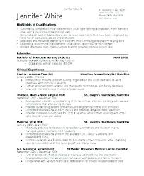 Icu Nurse Resume Medical Nurse Resume Medical Surgical Nurse Resume