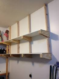 How To Build Wall Mounted Garage Storage Shelves