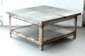 zinc coffee table latest zinc coffee table with zinc coffee table cool square coffee table for zinc coffee table