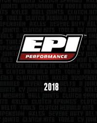 Ski Doo Qrs Secondary Spring Chart Epi Catalog 2018 By Epi Performance Issuu