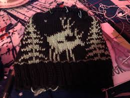 Im Making The Offensive Moose Beanie For A Friend To Cheer